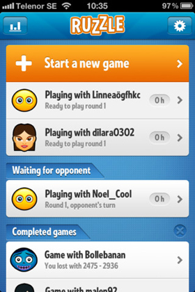Ruzzle screenshot 2